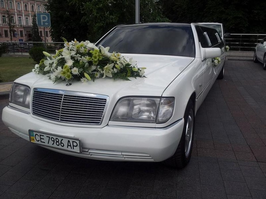 Лимузин Мерседес S 600