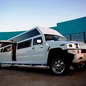 Mega Hummer H2 - авто на свадьбу в Мариуполе - портфолио 5