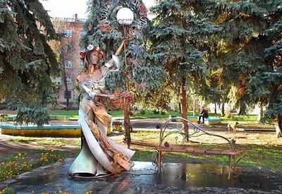"""Скульптура """"Девушка-Весна"""" - фото 1"""