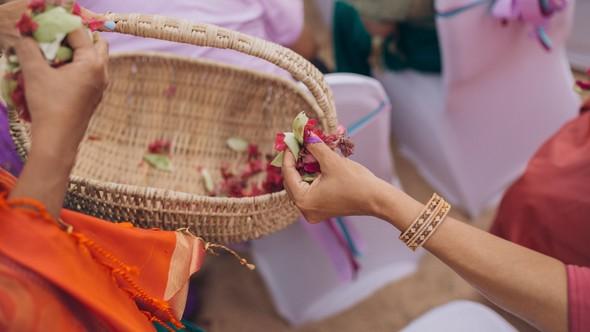 Индийская свадьба на Шри-Ланке - фото №50