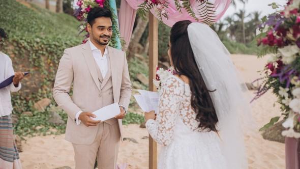 Индийская свадьба на Шри-Ланке - фото №36