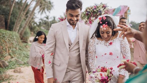 Индийская свадьба на Шри-Ланке - фото №53