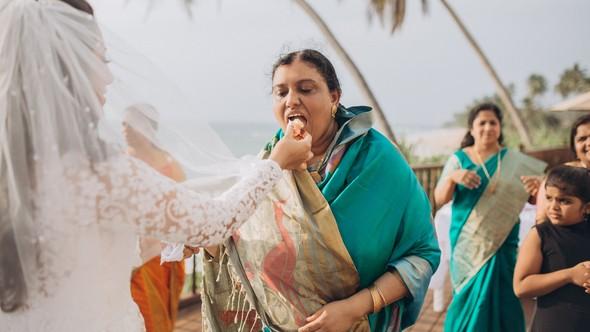 Индийская свадьба на Шри-Ланке - фото №61
