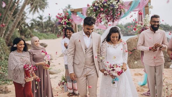 Индийская свадьба на Шри-Ланке - фото №52