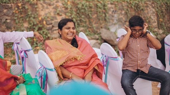 Индийская свадьба на Шри-Ланке - фото №27