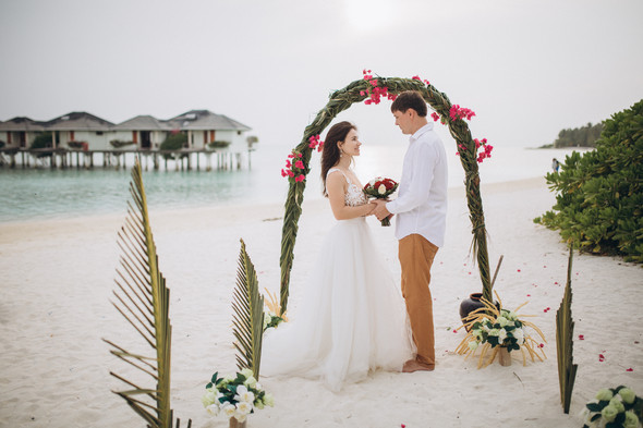 Александр и Татьяна. Мальдивы - фото №69