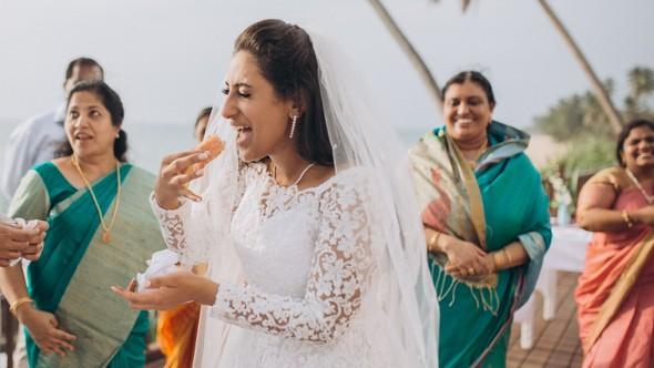Индийская свадьба на Шри-Ланке - фото №60