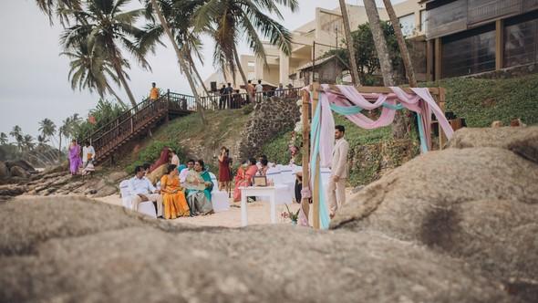 Индийская свадьба на Шри-Ланке - фото №25