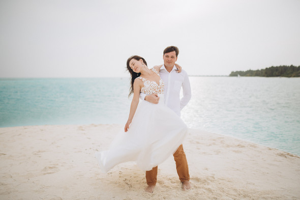 Александр и Татьяна. Мальдивы - фото №55