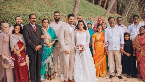 Индийская свадьба на Шри-Ланке - фото №56