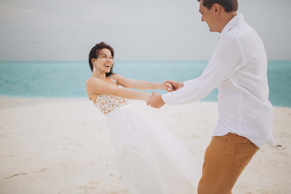 Александр и Татьяна. Мальдивы - фото №45
