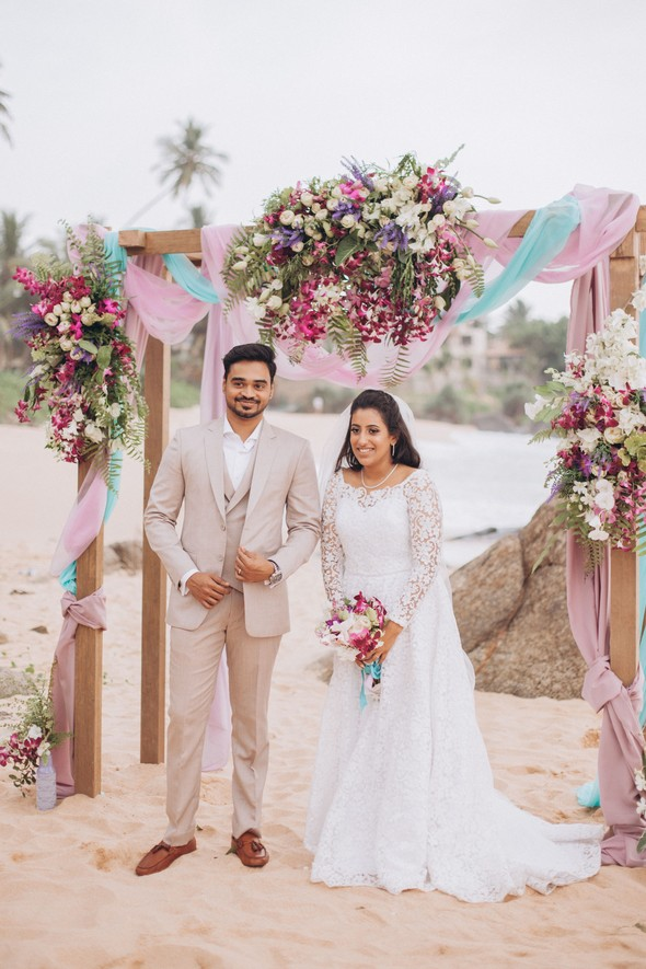 Индийская свадьба на Шри-Ланке - фото №47
