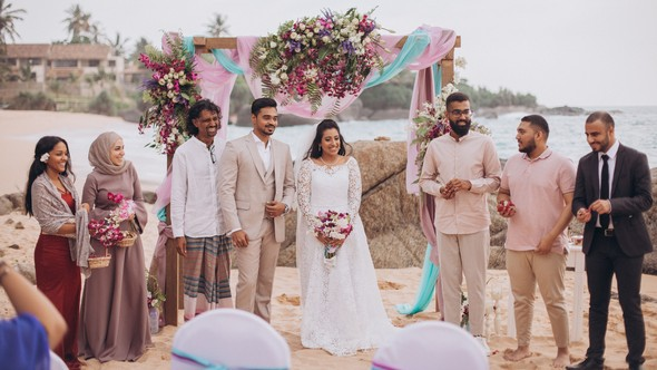Индийская свадьба на Шри-Ланке - фото №49