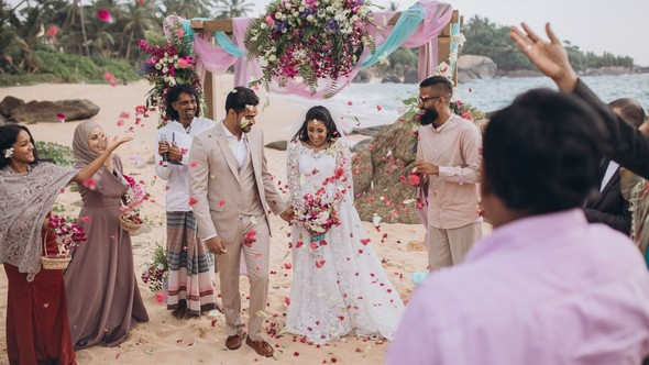Индийская свадьба на Шри-Ланке - фото №51