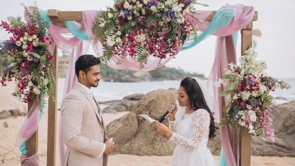 Индийская свадьба на Шри-Ланке - фото №38