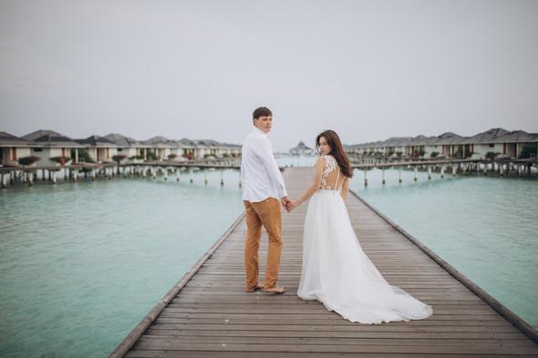 Александр и Татьяна. Мальдивы - фото №78