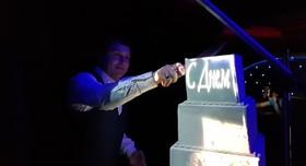3D-Торт Проекционное шоу Торт на свадьбу  - фото 4