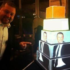 3D-Торт Проекционное шоу Торт на свадьбу  - фото 1