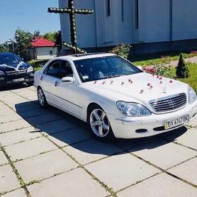 Mercedes s500 - авто на свадьбу в Львове - портфолио 1