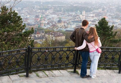 """Парк """"Высокий замок"""" - место для фотосессии в Львове - портфолио 3"""