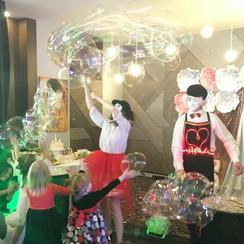 Шоу мыльных пузырей - артист, шоу в Хмельницком - фото 2