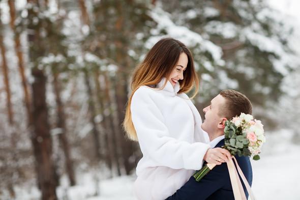 Зимняя сказка Паши и Ани - фото №1