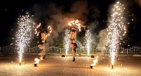 Огненное и пиротехническое шоу (фаер шоу) | Шоу-студия ЭРИАЛ - артист, шоу в Одессе - фото 2