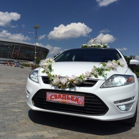 Форд Мондео - авто на свадьбу в Донецке - портфолио 2