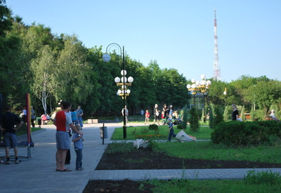 Приморский парк - место для фотосессии в Мариуполе - портфолио 5
