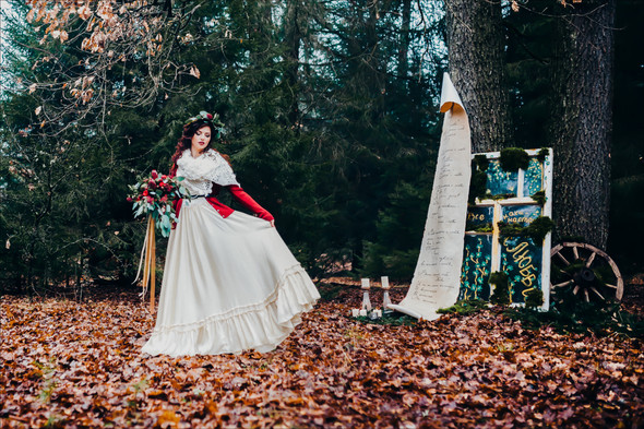Marsala Wedding - фото №18