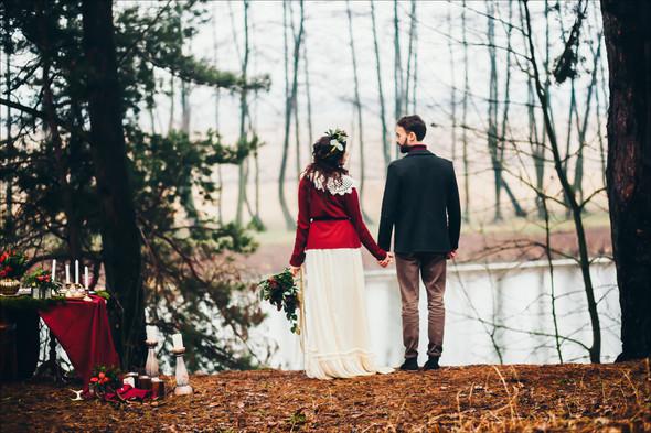 Marsala Wedding - фото №30