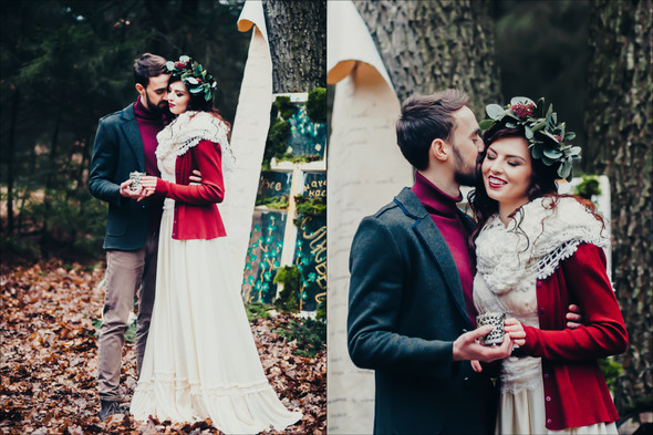 Marsala Wedding - фото №23