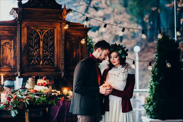 Marsala Wedding - фото №59