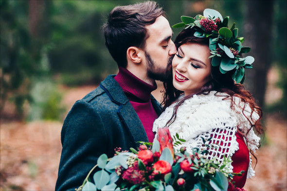 Marsala Wedding - фото №9