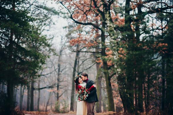 Marsala Wedding - фото №45