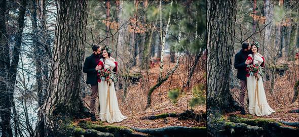Marsala Wedding - фото №37