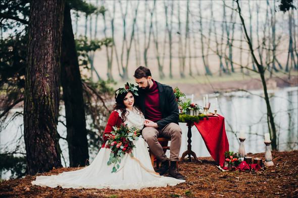 Marsala Wedding - фото №28