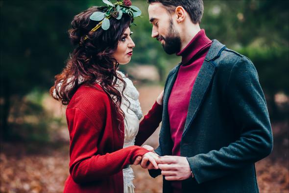 Marsala Wedding - фото №25