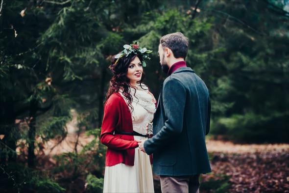 Marsala Wedding - фото №24