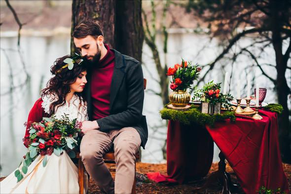 Marsala Wedding - фото №29