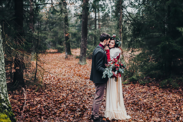 Marsala Wedding - фото №7