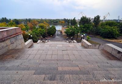Флотский бульвар - место для фотосессии в Николаеве - портфолио 5