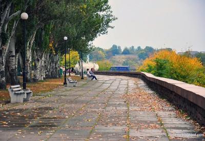 Флотский бульвар - место для фотосессии в Николаеве - портфолио 1