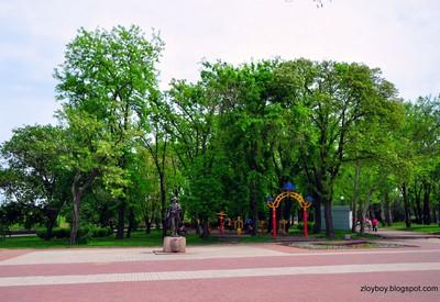 Флотский бульвар - место для фотосессии в Николаеве - портфолио 6