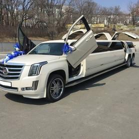 Лимузин Cadillac Escalade 2018 - авто на свадьбу в Киеве - портфолио 2