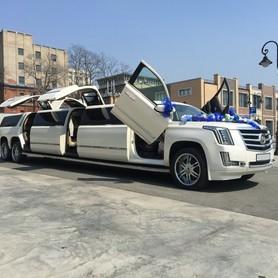 Лимузин Cadillac Escalade 2018 - авто на свадьбу в Киеве - портфолио 1