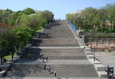 Потёмкинская лестница и Морвокзал - портфолио 6