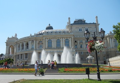 Одесский театр оперы и балета - место для фотосессии в Одессе - портфолио 4