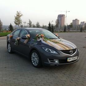 Mazda 6 - авто на свадьбу в Донецке - портфолио 4