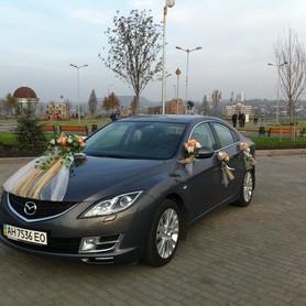 Mazda 6 - авто на свадьбу в Донецке - портфолио 1